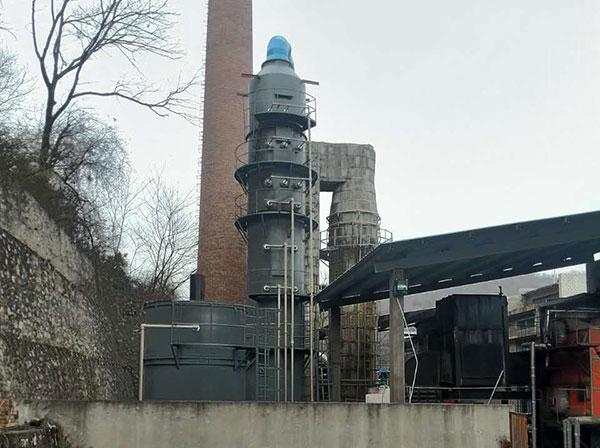 燃煤锅炉脱硫系统