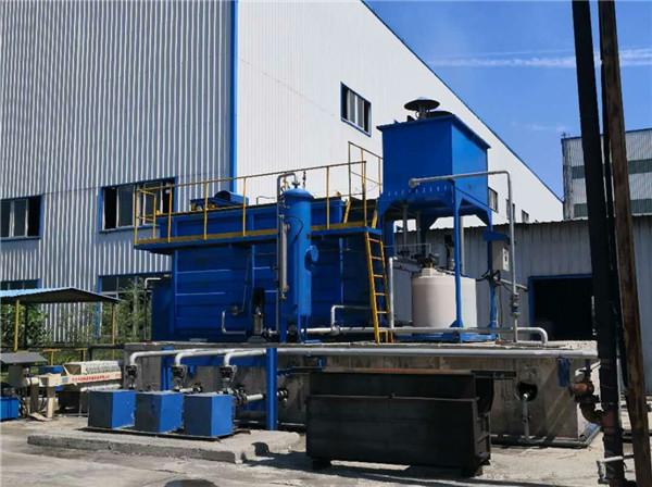 阳极糊生产线含油废水净化系统