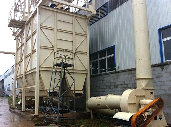 木业系统应用的防爆袋式除尘器
