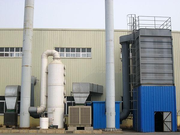 汽车零部件加工行业除尘废气净化器