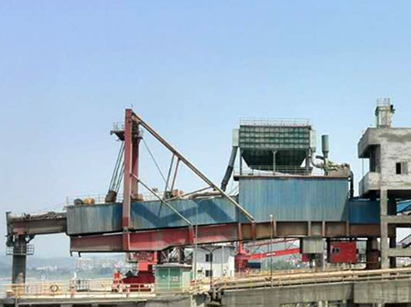 水泥熟料装船机除尘系统