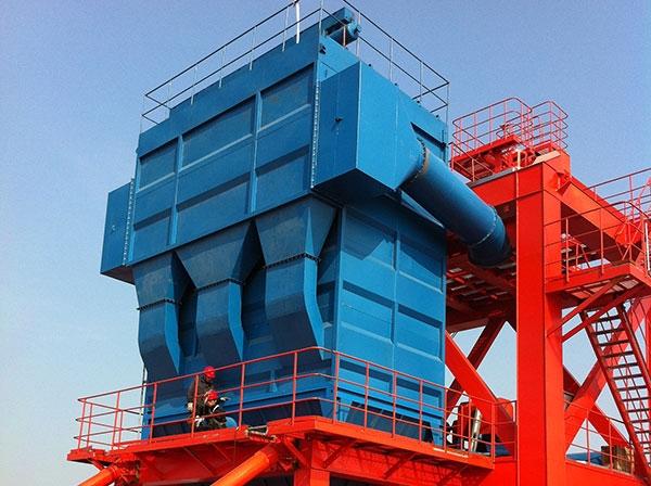 移动式水泥熟料装船机除尘器