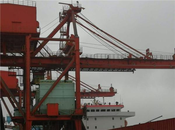 800T/h桥机卸船机除尘系统