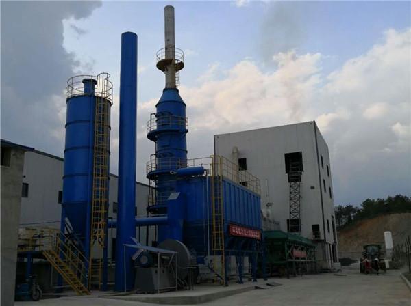 5万吨/年岩棉生产线除尘脱硫系统